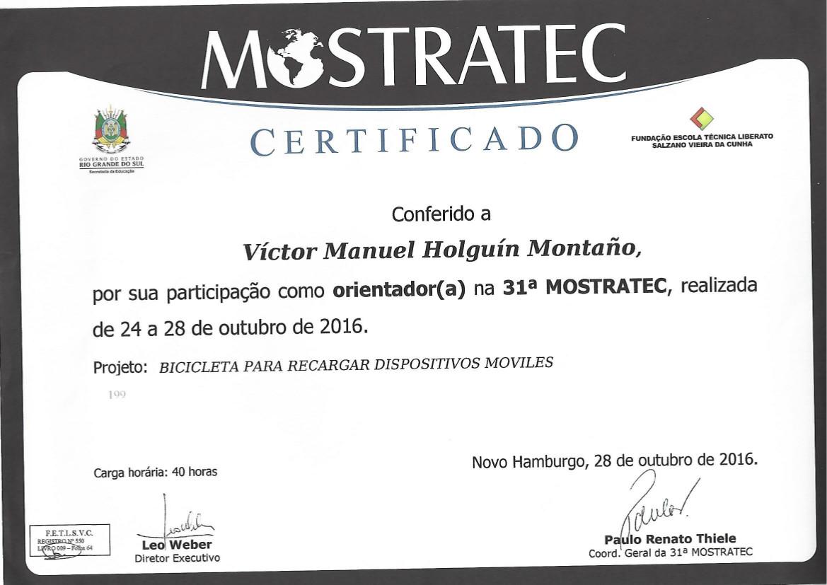 certificado mostratec